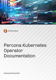 2020 Manual Cover Image Percona Kubernetes Operator