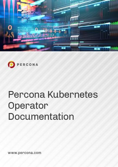 2020 Manual Cover Image Percona Kubernetes Operator