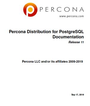 Percona_Distribution_For_PostgreSQL-11