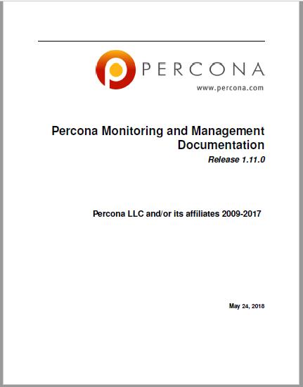 PerconaMonitoringAndManagement-1.11.0