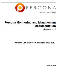 PerconaMonitoringAndManagement_2.1.0
