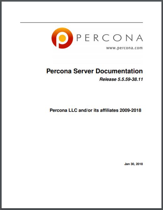 Percona Server for MySQL 5.5.59-38.11