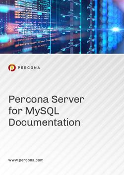 2020 Manual Cover Image Percona Server for MySQL