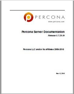Percona-Server-MySQL-5.7.23-24