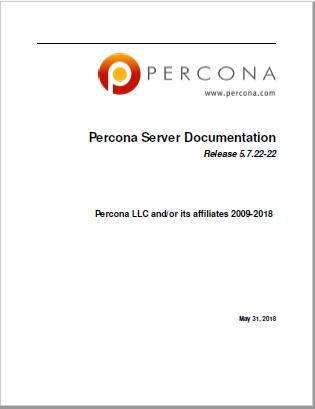PerconaServer-5.7.22-22