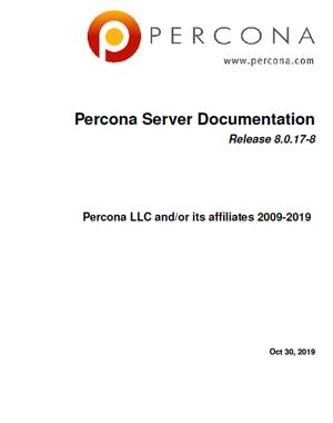 Percona-Server-MySQL-8.0.17-8