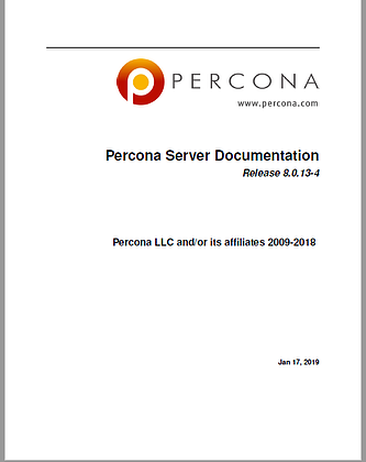 Percona-Server-for-MySQL-8.0.13-4