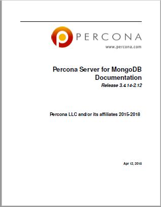 Percona-Server-for-MongoDB-3.4.14-2.12