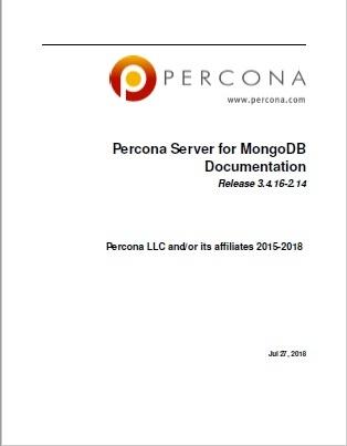 Percona-Server-for-MongoDB-3.4.16-2.14
