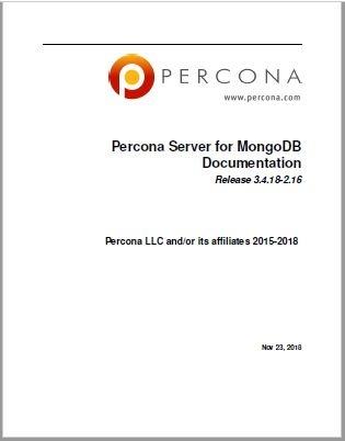 Percona-Server-for-MongoDB-3.4.18-2.16