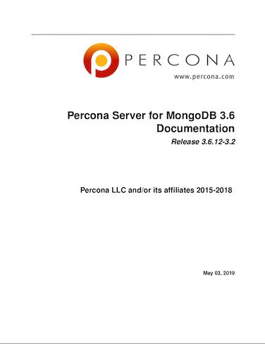 Percona-Server-for-MongoDB 3.6.12-3.2