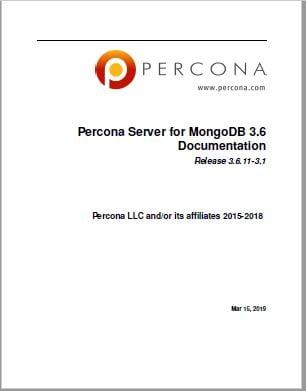 Percona-Server-for-MongoDB-3.6.11-3.1