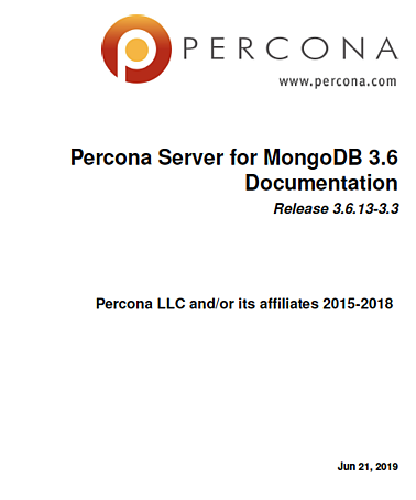 Percona-Server-for-MongoDB-3.6.13-3.3