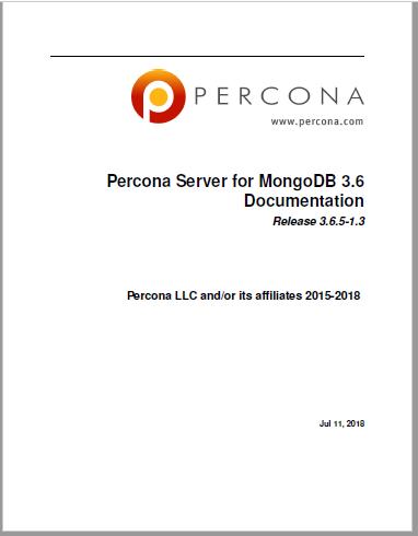 Percona-Server-for-MongoDB-3.6.5-1.3