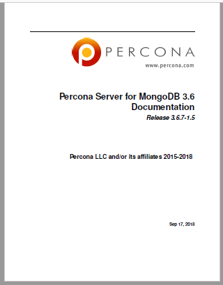 Percona-Server-for-MongoDB-3.6.7-1.5