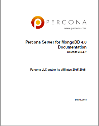 Percona-Server-MongoDB-4.0.4-1
