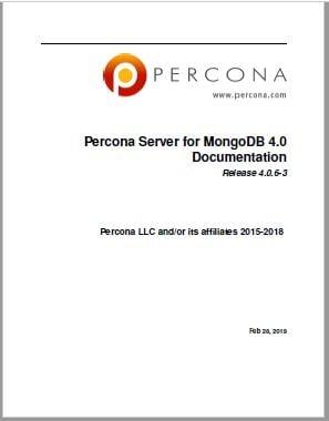 Percona-Server-for-MongoDB-4.0.6-3