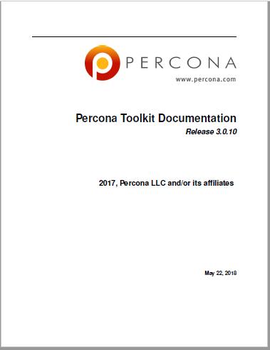 PerconaToolkit-3.0.10