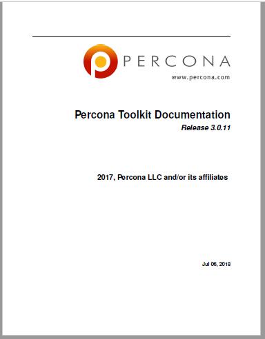 PerconaToolkit-3.0.11