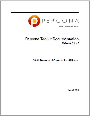 PerconaToolkit-3.0.12