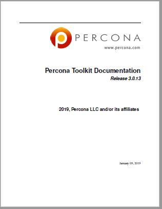 PerconaToolkit-3.0.13
