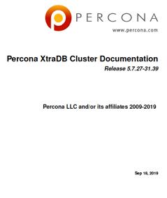 Percona_XtraDB_Cluster_5.7.27-31.39