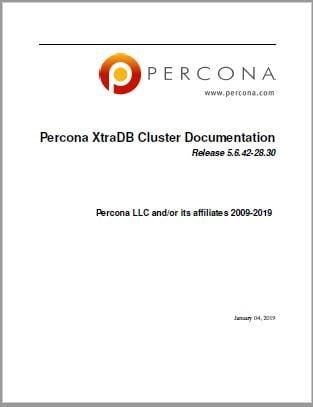 PerconaXtraDBCluster-5.6.42-28.30