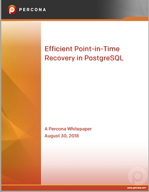 Efficient Point-in-Time Recovery in PostgreSQL
