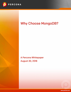 Why Choose MongoDB