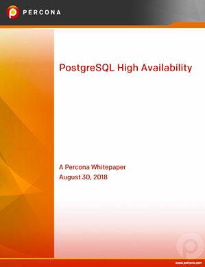 PostgreSQL High Availability