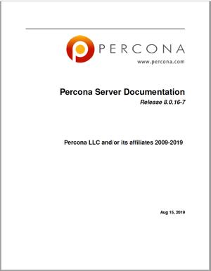 Percona Server for MySQL 8